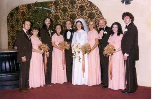 Our Wedding Party 1976 - 500 Wide.jpg